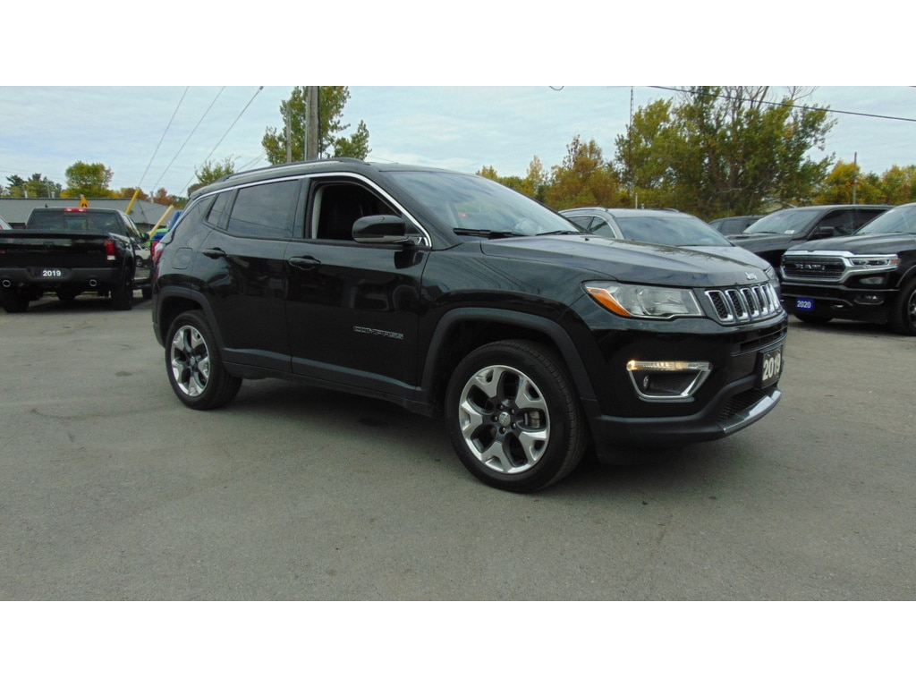 2019 Jeep Compass Limited 4x4- Heated Leather- PWR Lift Gate SUV