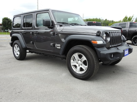 2020 Jeep Wrangler Unlimited SPORT- HEATED LEATHER - TECH GROUP SUV