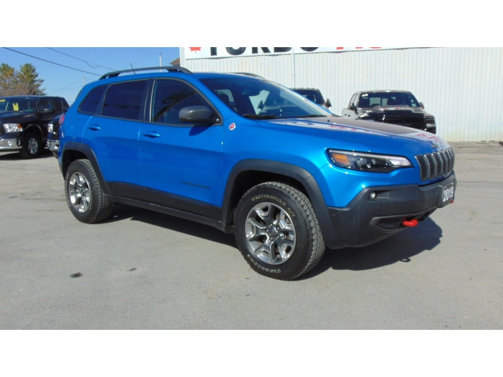 2019 Jeep Cherokee Trailhawk Elite 4X4- Technology Group SUV