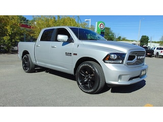 2018 Ram 1500 Sport Crew 4X4- Heated AND Cooled Leather Buckets Truck