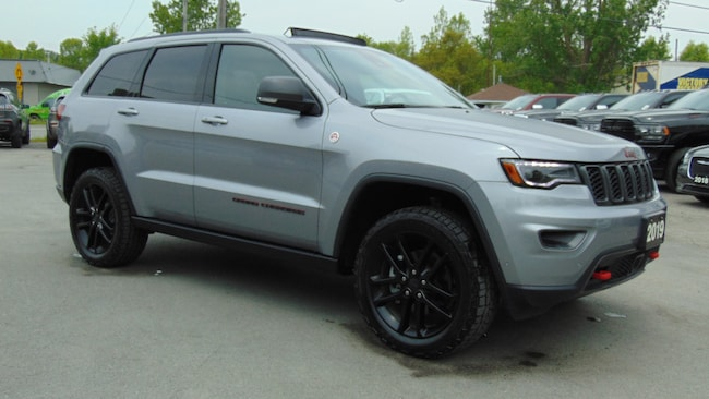 2019 Jeep Grand Cherokee TRAILHAWK 4X4- DVD- ADAPTIVE CRUISE- 4,200 KMS !!! SUV