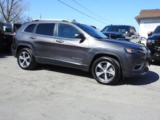 2019 Jeep Cherokee Limited 4x4 -  Panoroof- NAV- HTD Leather SUV