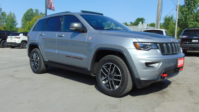 2019 Jeep Grand Cherokee TRAILHAWK 4X4- DVD- ADAPTIVE- PANOROOF- 4,852 KMS SUV