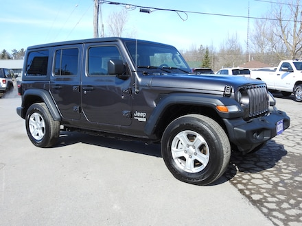 2020 Jeep Wrangler Unlimited Sport 4X4 Unlimited- Heated Leather & Tech GRP SUV