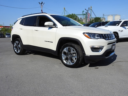 2019 Jeep Compass Limited 4x4- NAV- Leather- PWR Liftgate SUV