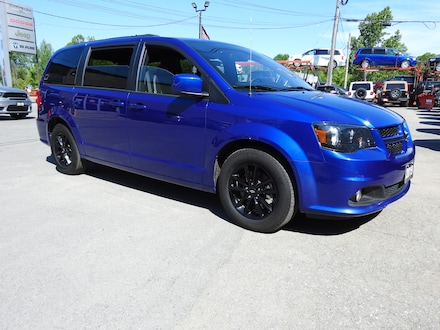 2019 Dodge Grand Caravan GT- NAV-DVD- HTD Leather- PWR Sliding Doors