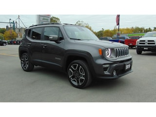 2019 Jeep Renegade Limited 4x4- Panoroof-Adaptive- TOW- NAV- 1,200 KM SUV