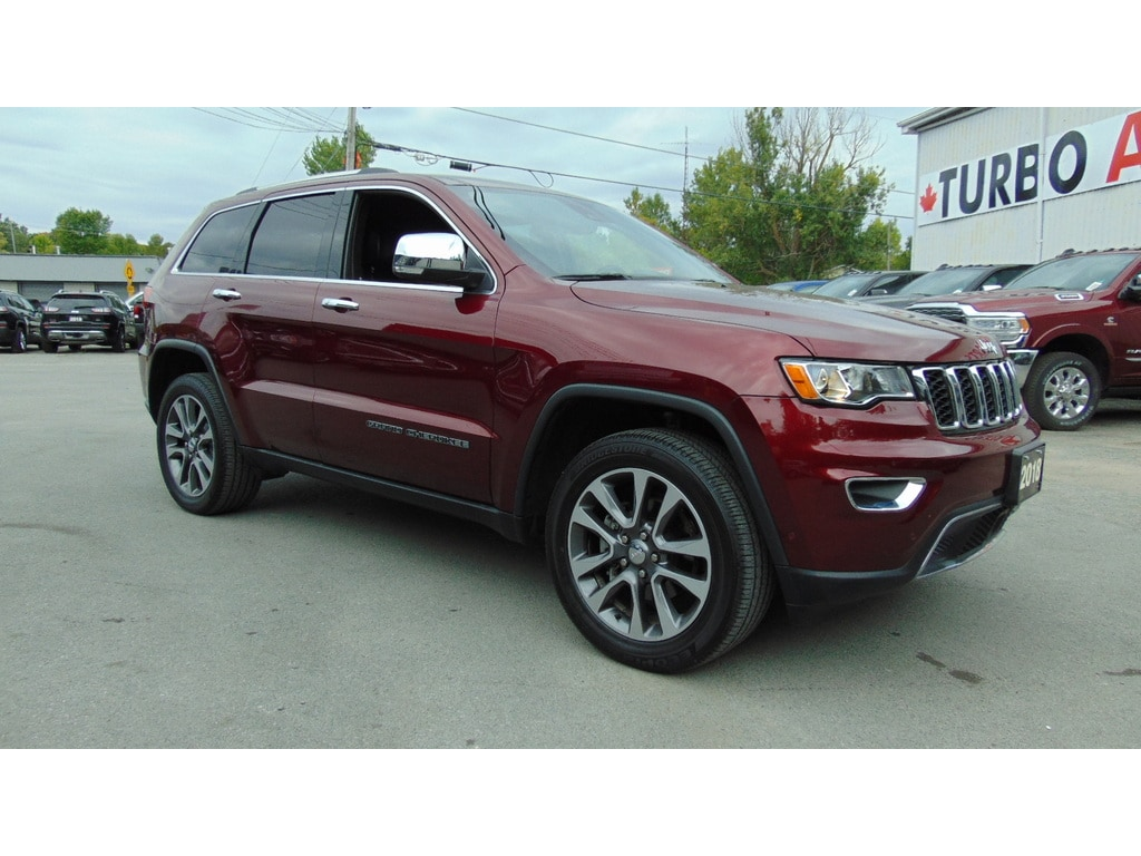 2018 Jeep Grand Cherokee Limited 4X4- Active Safety Group- Clean Carfax SUV