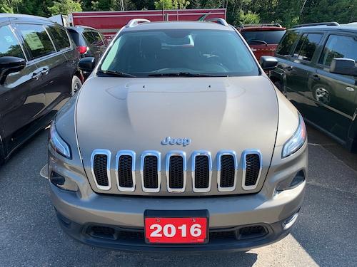 2016 Jeep Cherokee SUV