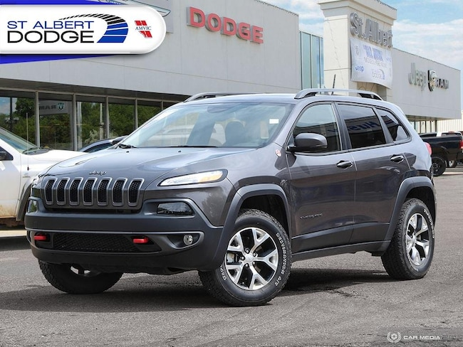 2018 Jeep Cherokee Trailhawk Leather PlusHEATED/COOLED LEATHER SEATS| Trailhawk Leather Plus 4x4