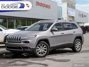 2017 Jeep Cherokee LimitedNAVIGATION| HEATED LEATHER SEATS| SUNROOF| 4WD  Limited