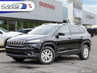 2017 Jeep Cherokee NorthBACKUP CAMERA| HEATED CLOTH SEATS| REMOTE STA 4WD  North