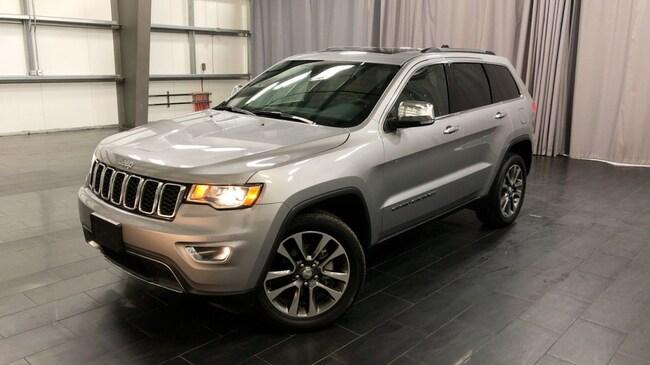 Used 2018 Jeep Grand Cherokee Sterling Edition Sunroof,GPS,Leather Seats SUV Winnipeg