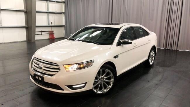 Used 2018 Ford Taurus Limited Leather, Sunroof, NAV Sedan Winnipeg