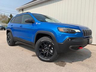 2019 Jeep Cherokee Trailhawk Elite Leather Int, Sunroof, NAV SUV