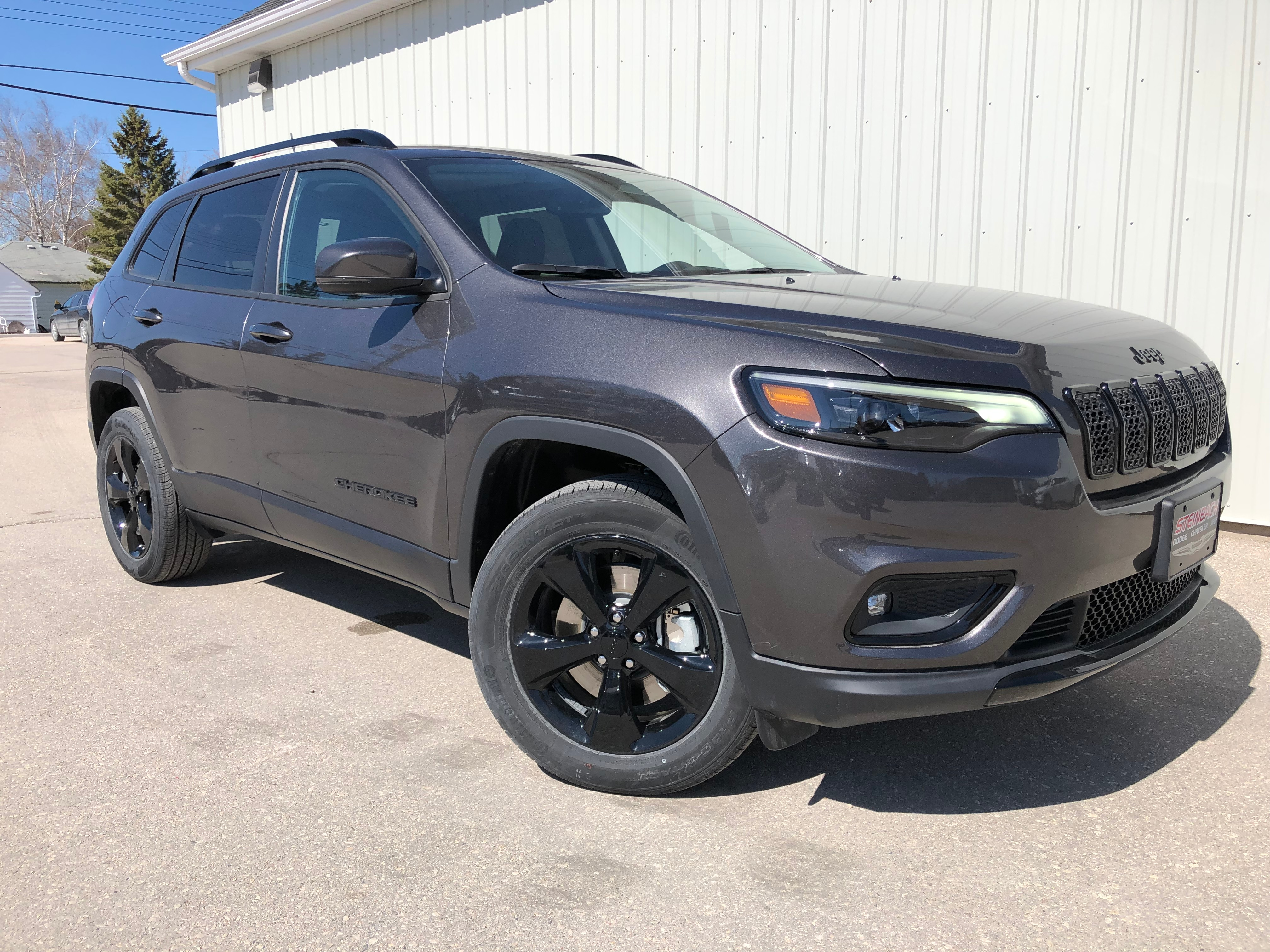 2019 Jeep New Cherokee Altitude Heated Seats, Remote Start, Floor Mats SUV