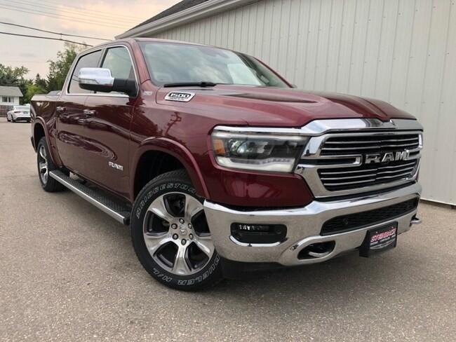 New 2019 Ram 1500 Laramie NAV, Dual Pane Sunroof, 12inch Touchscreen Truck Winnipeg