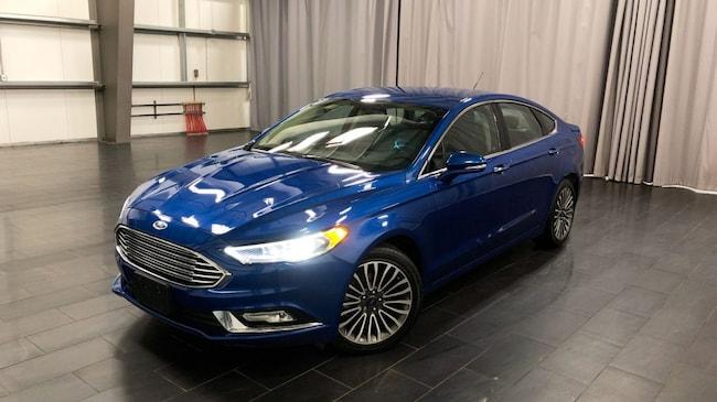 Used 2017 Ford Fusion SE Leather Int, Heated Seats, Memory Seats Sedan Winnipeg