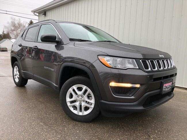 New 2019 Jeep Compass Sport Heated Seats, Remote Start, Floor Mats SUV Winnipeg
