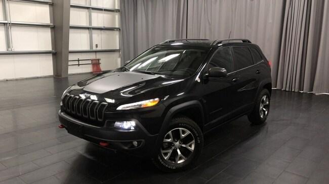Used 2018 Jeep Cherokee Trailhawk Leather Plus Leather Int, Heated Seats SUV Winnipeg