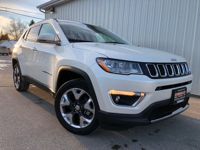 New 2019 Jeep Compass Limited Leather Int, Dual Pane Sunroof SUV Winnipeg