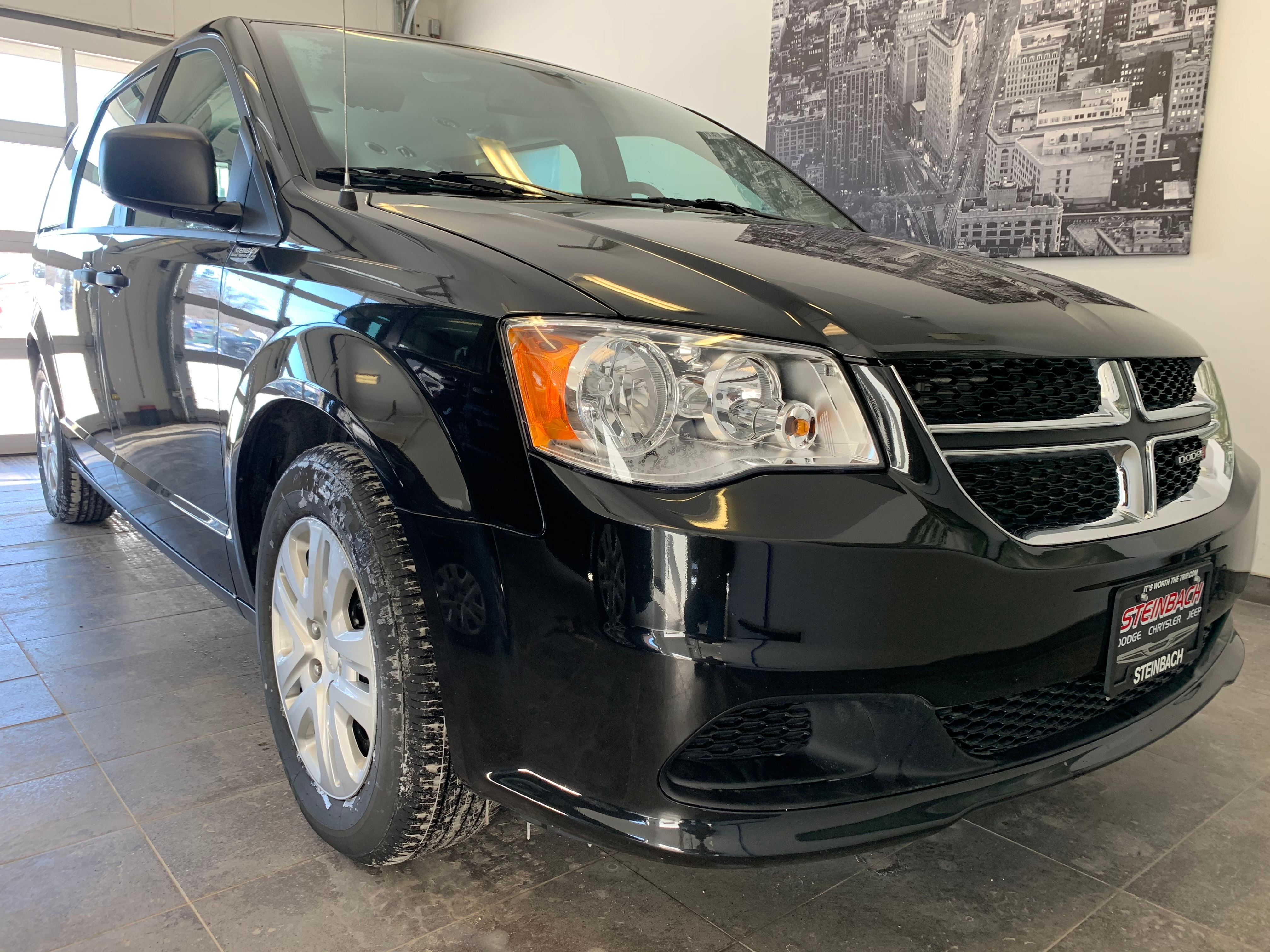 2019 Dodge Grand Caravan Canadian Value Package Back Up Camera, PW Minivan