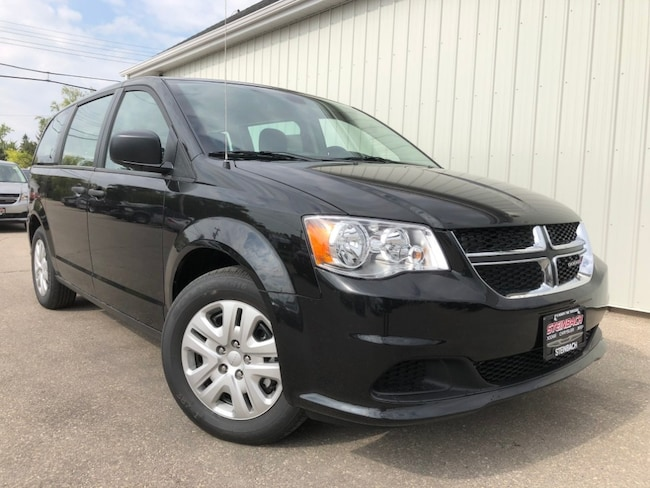 New 2019 Dodge Grand Caravan Canada Value Package Bluetooth, Cruise, Flex-Fuel Minivan Winnipeg