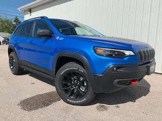 2019 Jeep New Cherokee Trailhawk Elite Sunroof, NAV, Leather Int SUV