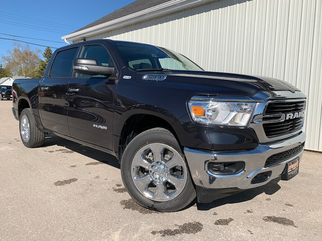 New 2019 Ram 1500 Big Horn NAV, Remote Start, SAT Radio Truck Winnipeg