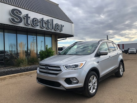 Featured pre-owned  2018 Ford Escape SEL SUV for sale in Stettler, AB