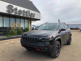 New 2020 Jeep Cherokee Trailhawk Elite SUV 20T016 in Stettler, AB