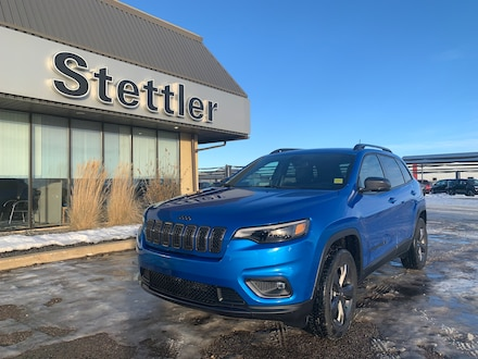 Featured new 2021 Jeep Cherokee 80th Anniversary 4x4 for sale in Stettler, AB