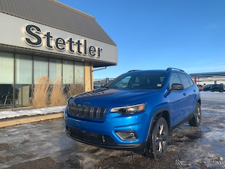 New 2021 Jeep Cherokee 80th Anniversary 4x4 21T013 in Stettler, AB