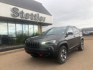 New 2020 Jeep Cherokee Trailhawk SUV 20T088 in Stettler, AB