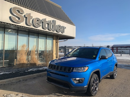 Featured new 2021 Jeep Compass 80th Anniversary Edition 4x4 for sale in Stettler, AB