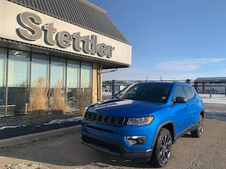 New 2021 Jeep Compass 80th Anniversary Edition 4x4 21T024 in Stettler, AB