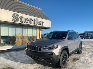 New 2021 Jeep Cherokee Trailhawk Elite 4x4 21T012 for sale in Red Deer, AB