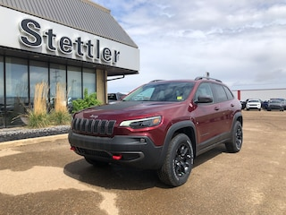 New 2020 Jeep Cherokee Trailhawk SUV 20T034 in Stettler, AB
