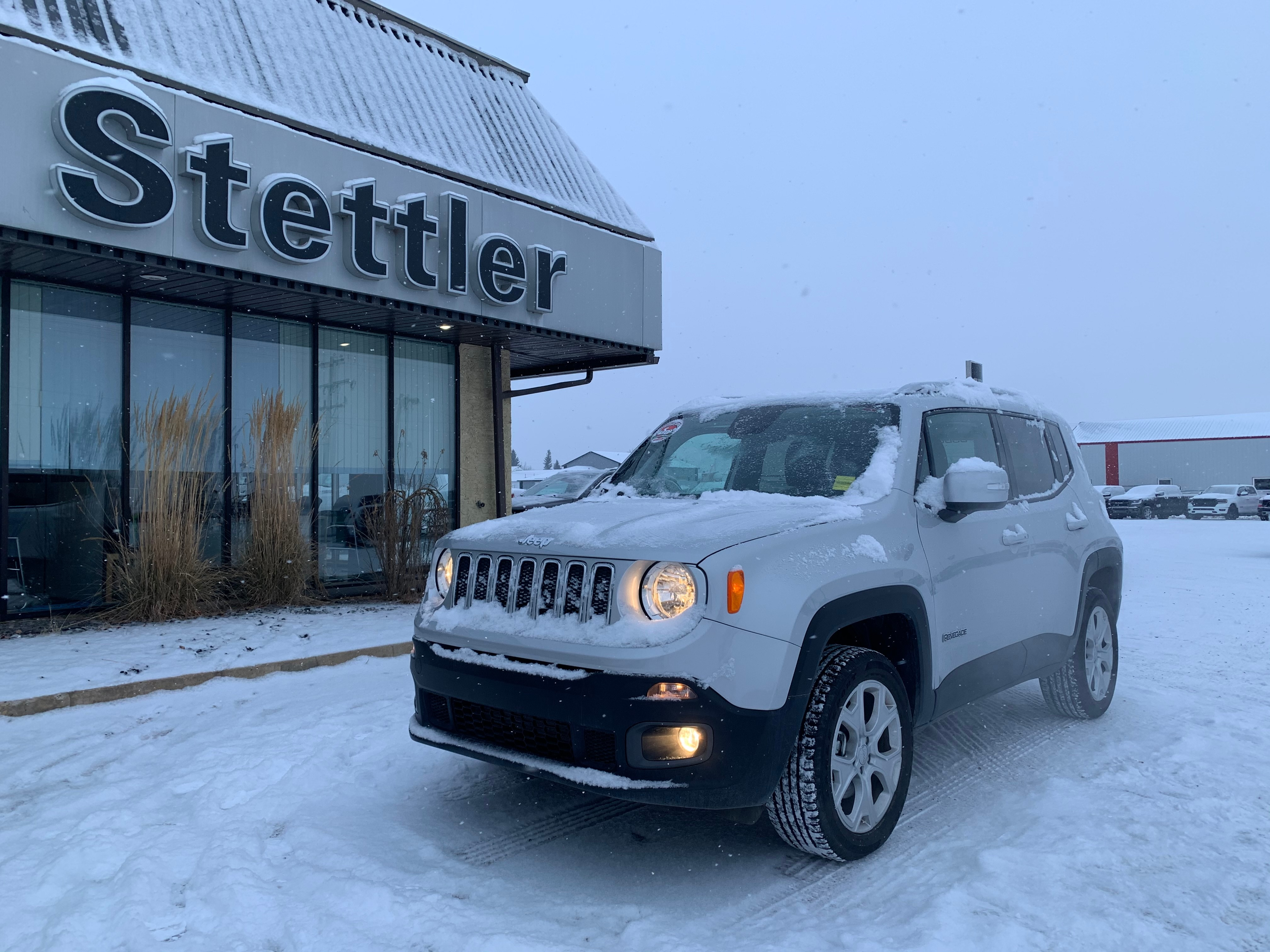 Featured pre-owned  2018 Jeep Renegade Limited SUV for sale in Stettler, AB
