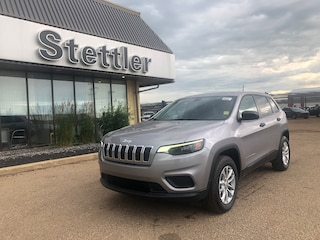 New 2020 Jeep Cherokee Sport SUV 20T083 in Stettler, AB