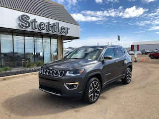 New 2019 Jeep Compass Limited SUV 19T125 in Stettler, AB