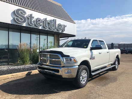 Featured pre-owned  2018 Ram 3500 Laramie Truck Crew Cab for sale in Stettler, AB