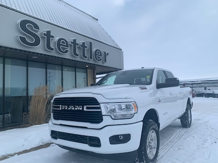 Featured new 2020 Ram 2500 Big Horn 4x4 Crew Cab 6.3 ft. box 149 in. WB for sale in Stettler, AB