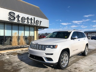 New 2021 Jeep Grand Cherokee Summit 4x4 21T035 for sale in Red Deer, AB