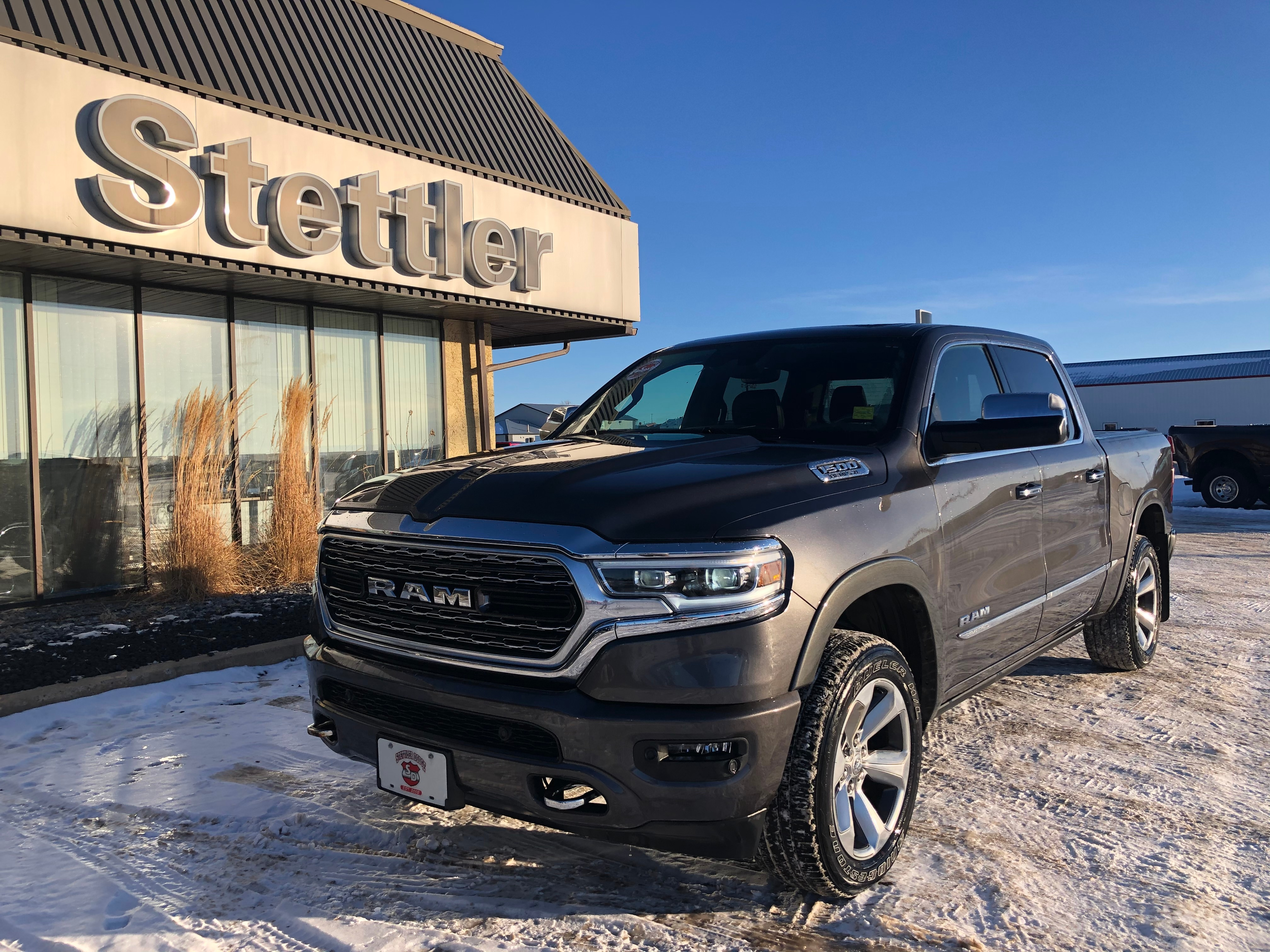 Featured pre-owned  2019 Ram 1500 Limited Truck Crew Cab for sale in Stettler, AB