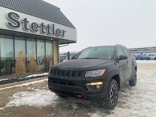 New 2021 Jeep Compass Trailhawk 4x4 21T001 for sale in Red Deer, AB