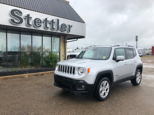 2018 Jeep Renegade: Changes, Design, Features, Price >> Used 2018 Jeep Renegade Limited For Sale Stettler Ab