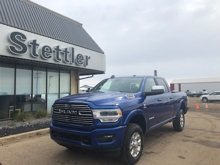 Featured new 2019 Ram New 3500 Laramie Sport Truck Crew Cab for sale in Stettler, AB