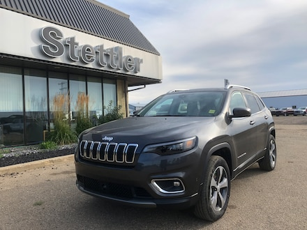 Featured new 2020 Jeep Cherokee Limited SUV for sale in Stettler, AB