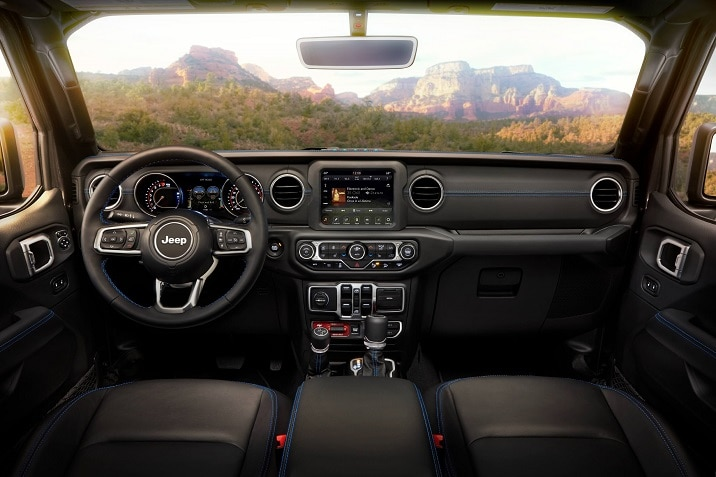 2021 Jeep Wrangler Rubicon 4xe interior